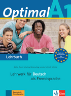 Cover Optimal A1 978-3-12-606144-5 Martin Müller, Paul Rusch et. al. Deutsch als Fremdsprache (DaF)