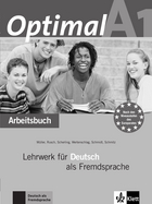 Cover Optimal A1 978-3-12-606145-2 Martin Müller, Paul Rusch et. al. Deutsch als Fremdsprache (DaF)