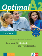 Cover Optimal A2 978-3-12-606157-5 Martin Müller, Paul Rusch et. al. Deutsch als Fremdsprache (DaF)
