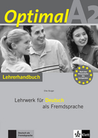 Cover Optimal A2 978-3-12-606159-9 Elke Burger Deutsch als Fremdsprache (DaF)