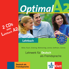 Cover Optimal A2 978-3-12-606160-5 Deutsch als Fremdsprache (DaF)