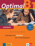 Cover Optimal B1 978-3-12-606168-1 Martin Müller, Paul Rusch et. al. Deutsch als Fremdsprache (DaF)