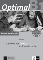 Cover Optimal B1 978-3-12-606170-4 Elke Burger Deutsch als Fremdsprache (DaF)