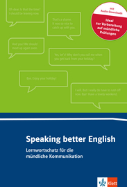 Cover Speaking better English 978-3-12-519571-4 Englisch
