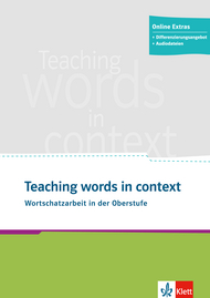 Cover Teaching words in context 978-3-12-519946-0 Englisch