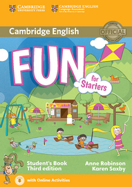 Cover Fun for Starters 978-3-12-532900-3 Englisch