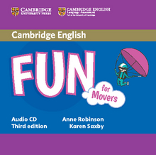 Cover Fun for Movers 978-3-12-532906-5 Englisch
