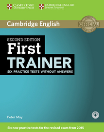Cover First Trainer 978-3-12-532927-0 Englisch