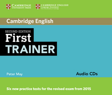 Cover First Trainer 978-3-12-532929-4 Englisch