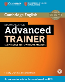 Cover Advanced Trainer 978-3-12-532930-0 Englisch