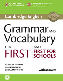 Cover Grammar and Vocabulary for First and First for Schools 978-3-12-532934-8 Englisch