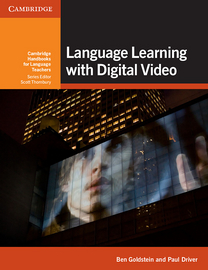 Cover Language Learning with Digital Video 978-3-12-540023-8 Englisch