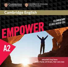 Cover Cambridge English Empower A2 978-3-12-540374-1 Englisch