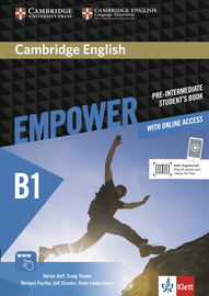 Cover Cambridge English Empower B1 978-3-12-540377-2 Englisch