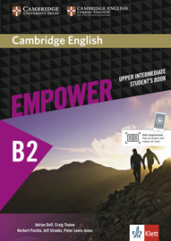 Cover Cambridge English Empower B2 978-3-12-540392-5 Englisch