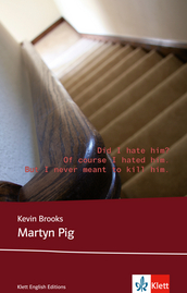 Cover Martyn Pig 978-3-12-578165-8 Kevin Brooks Englisch