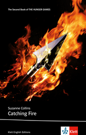 Cover Catching Fire 978-3-12-578169-6 Suzanne Collins Englisch