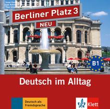 berliner platz 3 neu lehr und arbeitsbuch mit 2 audio cds zum arbeitsbuchteil klett sprachen. Black Bedroom Furniture Sets. Home Design Ideas