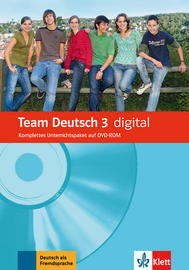 Cover Team Deutsch 3 (B1) digital 978-3-12-675965-6 Deutsch als Fremdsprache (DaF)