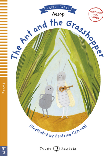 Cover The Ant and the Grasshopper 978-3-12-515063-8 Äsop Englisch