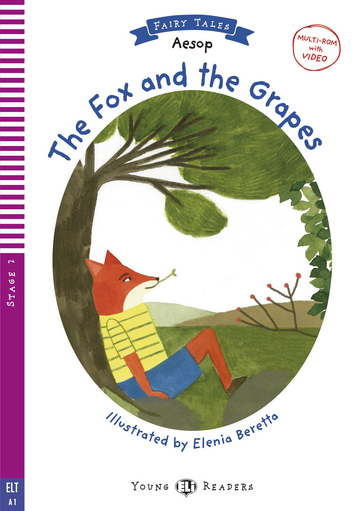 Cover The Fox and the Grapes 978-3-12-515064-5 Äsop Englisch