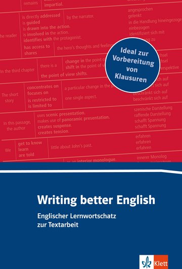 Cover Writing better English 978-3-12-519561-5 Englisch
