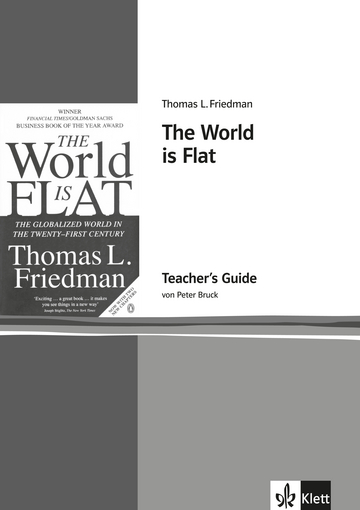 friedman flat world essay Christopher columbus had first discovered that the world is round thomas l friedman believes otherwise, metaphorically speaking, of course one must wonder.