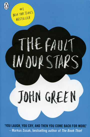 Cover The Fault in our Stars 978-3-12-573850-8 John Green Englisch