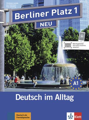 berliner platz 1 neu lehr und arbeitsbuch mit 2 audio cds zum arbeitsbuchteil klett sprachen. Black Bedroom Furniture Sets. Home Design Ideas