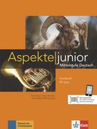 Cover Aspekte junior B1 plus 978-3-12-605250-4 Ute Koithan, Helen Schmitz et. al. Deutsch als Fremdsprache (DaF),Deutsch als Zweitsprache
