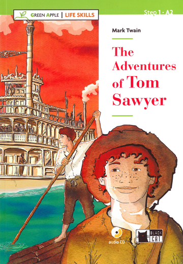 Cover The Adventures of Tom Sawyer 978-3-12-500103-9 Mark Twain Englisch