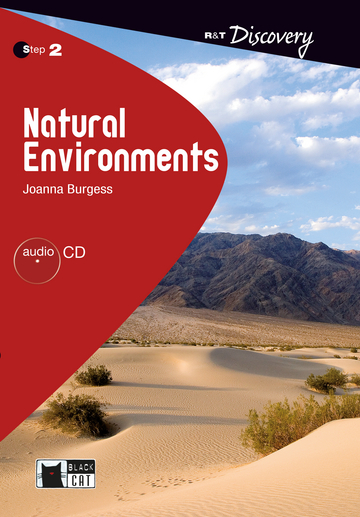 Cover Natural Environments 978-3-12-500203-6 Joanna Burgess Englisch