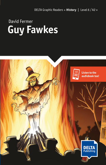 Cover Guy Fawkes 978-3-12-501118-2 David Fermer Englisch