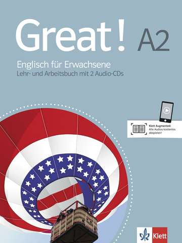 Cover Great! A2 978-3-12-501482-4 Englisch