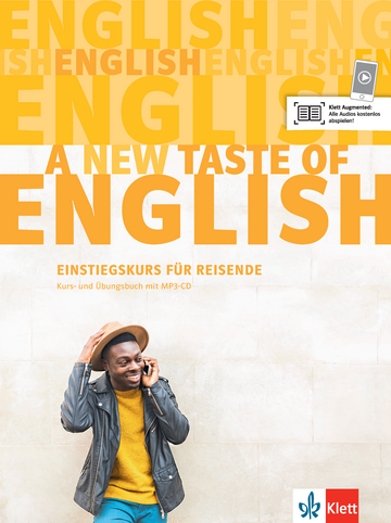 Cover A new taste of English 978-3-12-501548-7 Englisch