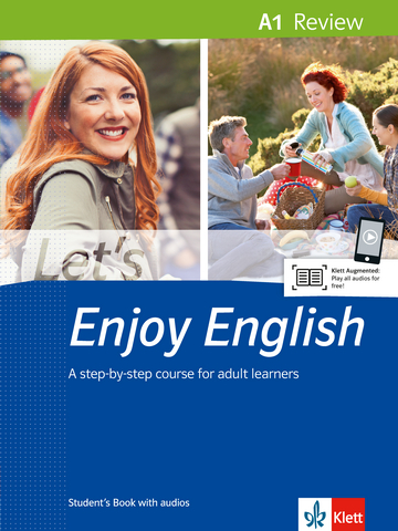 Cover Let's Enjoy English A1 Review 978-3-12-501636-1 Englisch