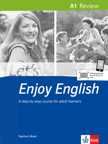 Cover Let's Enjoy English A1 Review 978-3-12-501637-8 Englisch