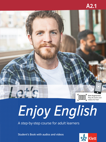 Cover Let's Enjoy English A2.1 978-3-12-501638-5 Englisch