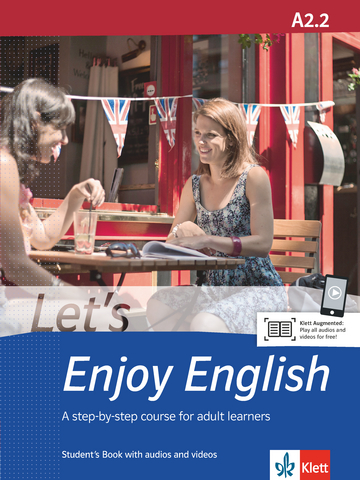 Cover Let's Enjoy English A2.2 978-3-12-501639-2 Englisch