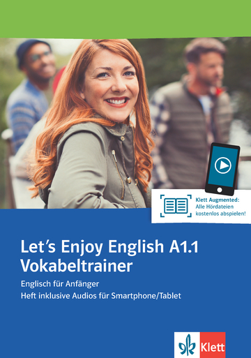 Cover Let's Enjoy English A1.1 Vokabeltrainer 978-3-12-501653-8 Englisch