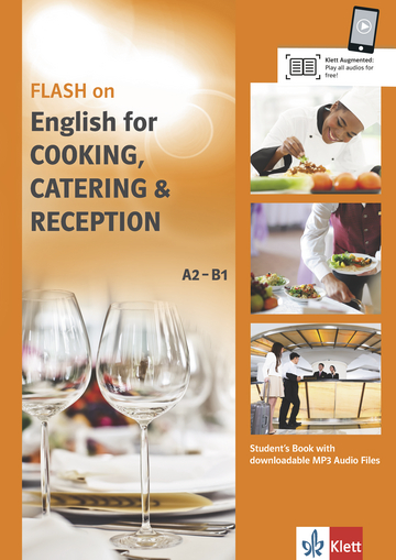 Cover FLASH on English for COOKING, CATERING & RECEPTION A2-B1 978-3-12-501692-7 Englisch