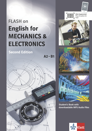 Cover FLASH on English for MECHANICS & ELECTRONICS A2-B1 978-3-12-501693-4 Englisch