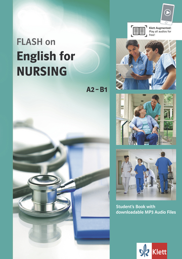 Cover FLASH on English for NURSING A2-B1 978-3-12-501694-1 Englisch