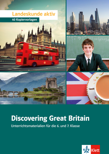 Cover Discovering Great Britain 978-3-12-513582-6 Jennifer Easterbrook, Jennifer Mock, Andreas Redl Englisch