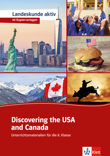 Cover Discovering the USA and Canada 978-3-12-513583-3 Jennifer Easterbrook Englisch