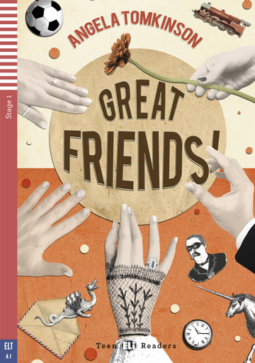 Cover Great Friends! 978-3-12-514734-8 Angela Tomkinson Englisch