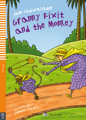 Cover Granny Fixit and the Monkey 978-3-12-514746-1 Jane Cadwallader Englisch