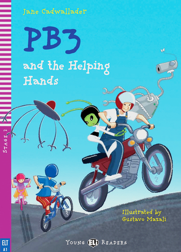Cover PB3 and the Helping Hands 978-3-12-514770-6 Jane Cadwallader Englisch