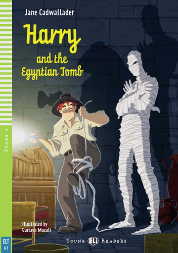 Cover Harry and the Egyptian Tomb 978-3-12-514771-3 Jane Cadwallader Englisch