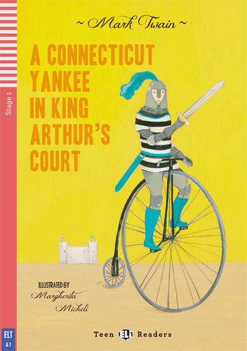 Cover A Connecticut Yankee in King Arthur's Court 978-3-12-514789-8 Mark Twain Englisch